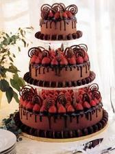 ...takovýto dortík s jahůdkami... můj drahý si jej zamiloval... :o)
