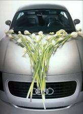 naprosto super - takto jsem to chtěla, ale dle floristky budou kaly v srpnu dost drahé :(