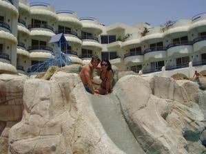 fotka z našej svadobnej cesty do Egypta, hotel Sea Gull