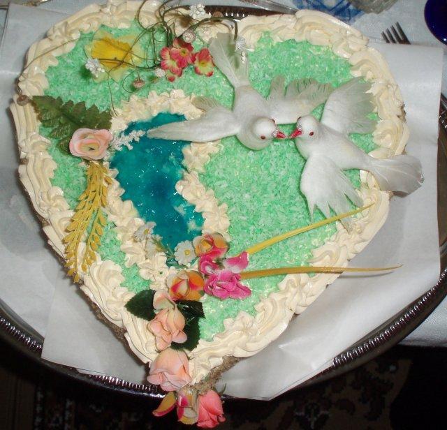 Od prstienka ku svadbe - nasa zasnubna torta