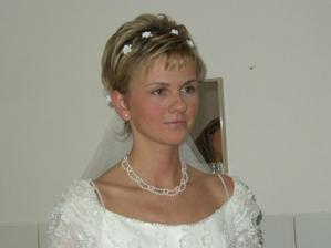 inspirace pro krátkovlasé nevěsty jako jsem já