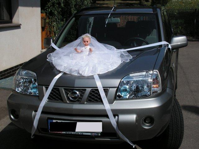 Irča{{_AND_}}Lukáš - autíčko pro nevěstu