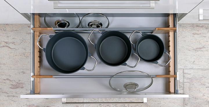 Najkrajšie kuchyne - na hrnce a pokrievky