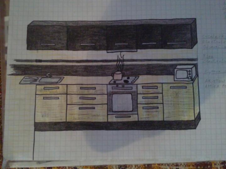 Moja buduca kuchyna - a hlavna pracovna plocha