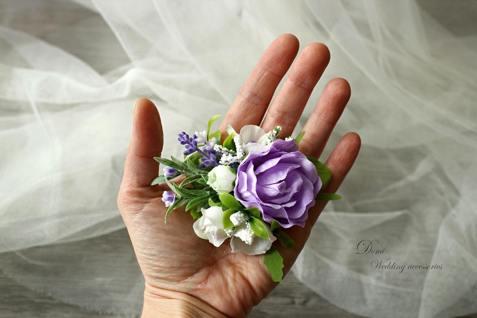 Doplnky pre nevestu, ženícha, družičky z trvácnych kvietkov... inšpirácie ♥ - Obrázok č. 15
