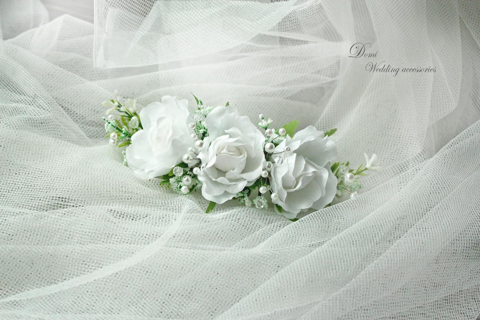 Doplnky pre nevestu, ženícha, družičky z trvácnych kvietkov... inšpirácie ♥ - Obrázok č. 3