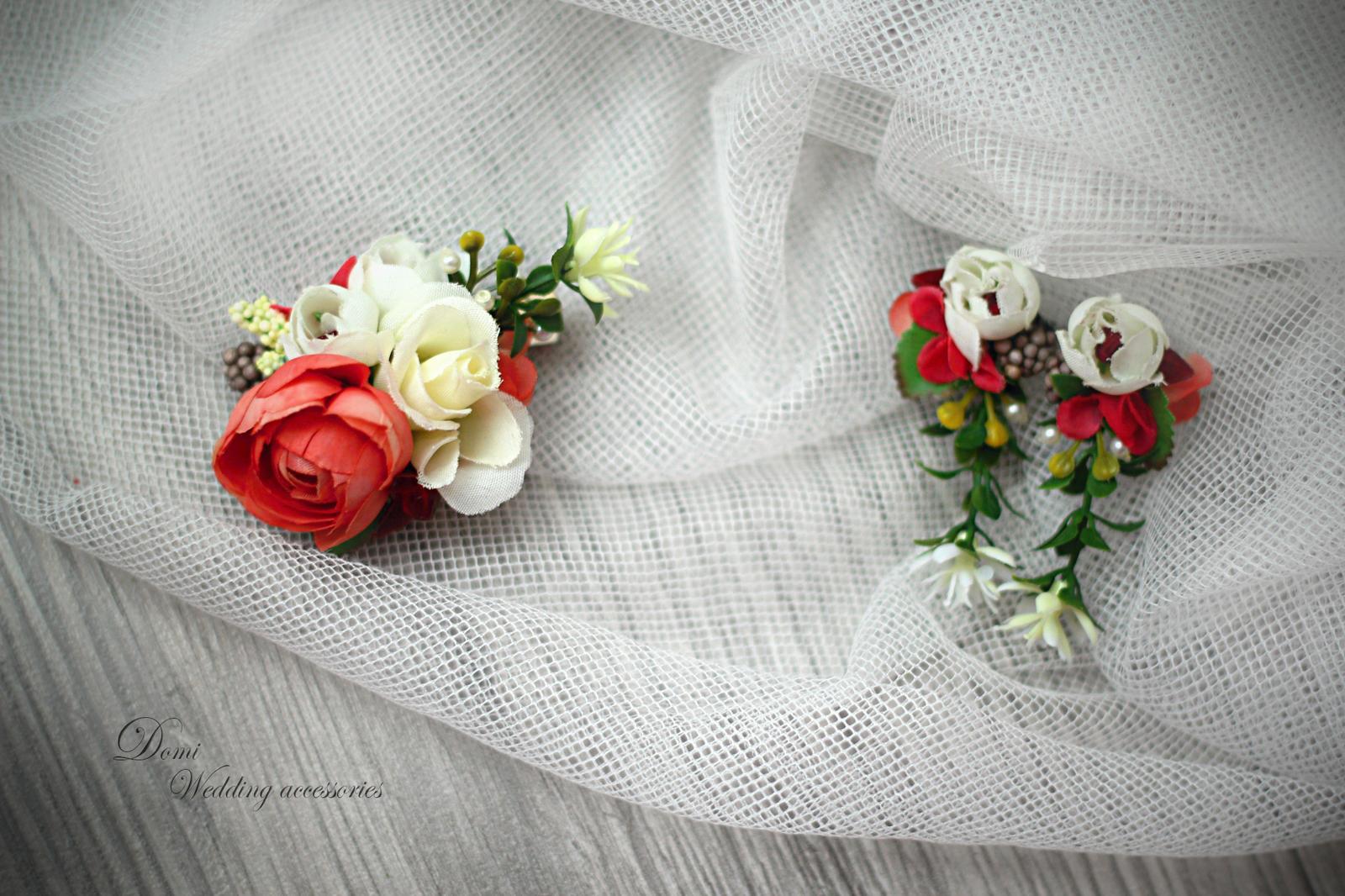 Doplnky pre nevestu, ženícha, družičky z trvácnych kvietkov... inšpirácie ♥ - Obrázok č. 23