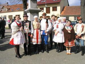 Přišli mi zazpívat kamarádi ze Slováckého krúžku v Brně :-)