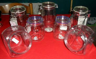 Jars we have so far for sweet buffet