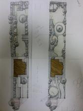že vraj prvotná skica - pre mňa parádna kresba na zarámovanie :) ďakujeme, milá A.B.!!