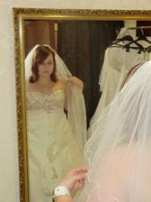 Já při zkoušce šatů