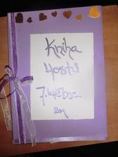 Kniha hostů-přední obálka