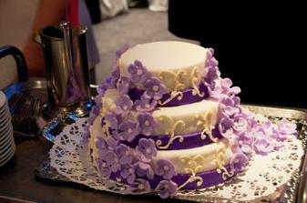 náš překrásný dort