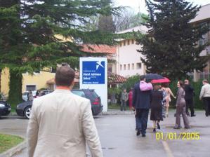 hotel kde se konal před obřadní raut
