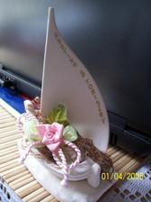 tohle je dárek hostům za novomanžele
