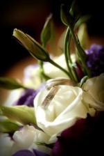 naše prstienky s kytičkou ;)