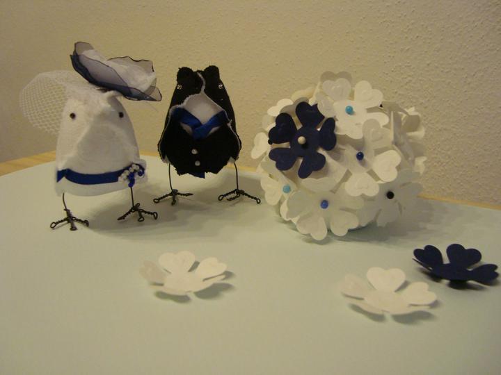 Notre mariage - Prototyp kytikoule. Určitě budou další :-)