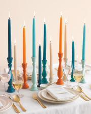 Svíčky tentokrát barevné