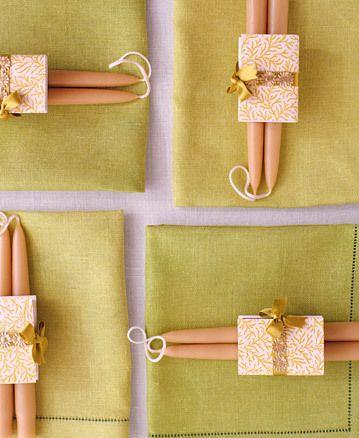 DIY návody a nápady - Elegantní řešení dárků pro hosty