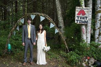 Svatba v kempu - náš případ :-)