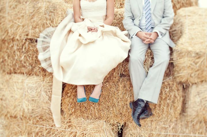 Idées et inspirations - Ještě jedna idea na svatební focení