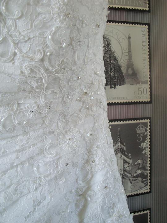 Notre mariage - Detail šatů I.