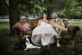 Vintage wedding relax