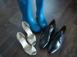 ...a svatební obutí aktualizované podle předpovědi :-)