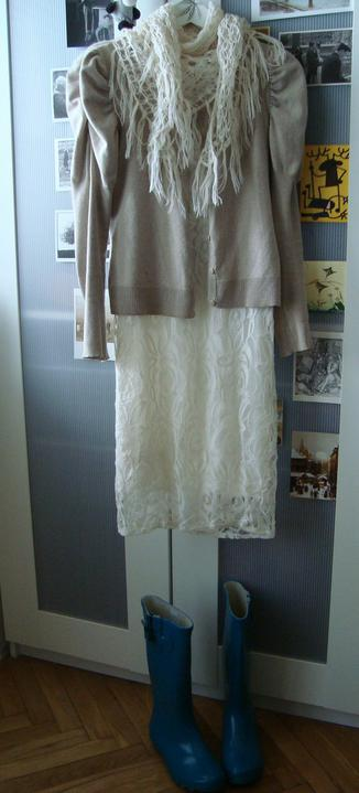 Notre mariage - Zimní outfit :-D