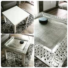 troska vylepseny 5 Eurovy IKEA stolik :D