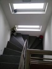 dočasné riešenie schodov.