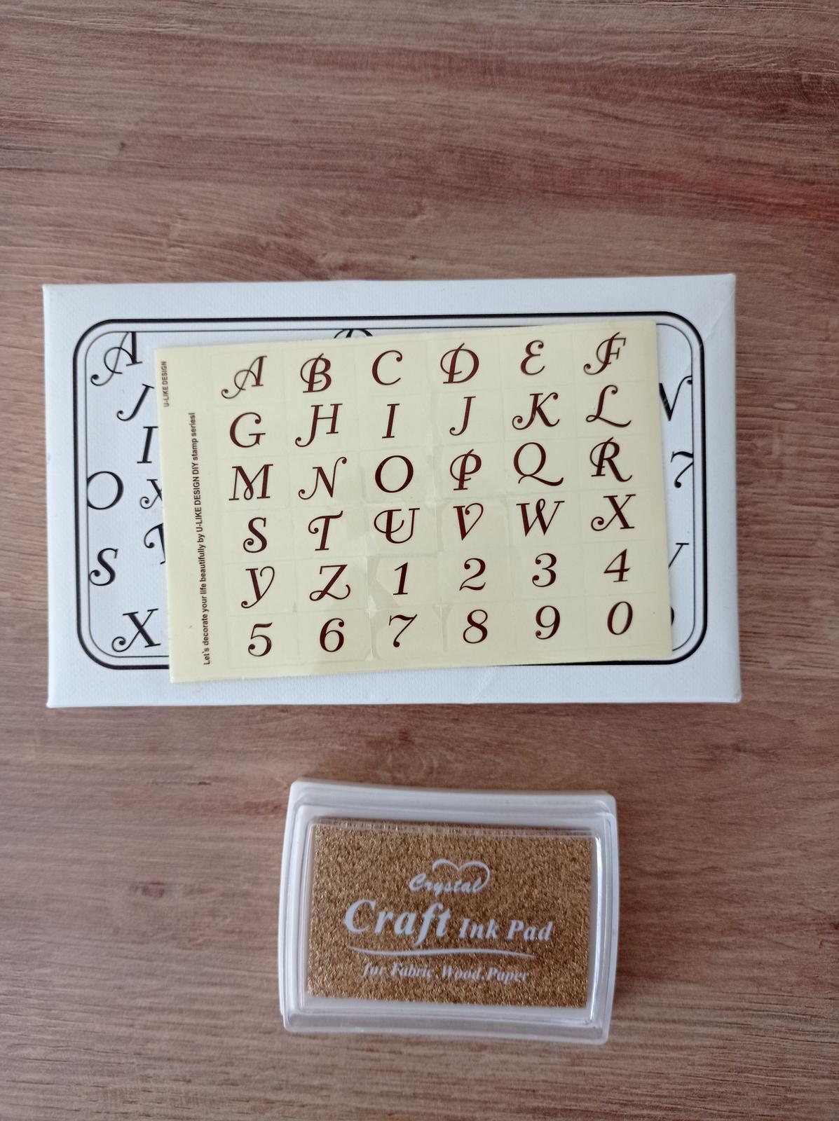 Pečiatky abeceda - Obrázok č. 1