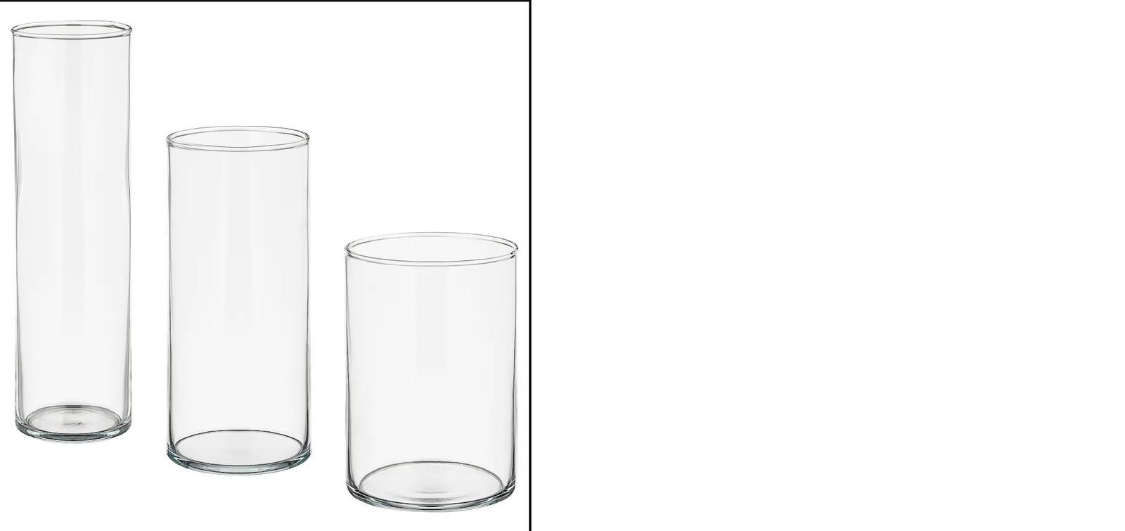 Vázy CYLINDER IKEA - Obrázok č. 1