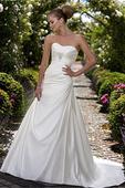 Jednoduché svadobné šaty Essense 1063, 38