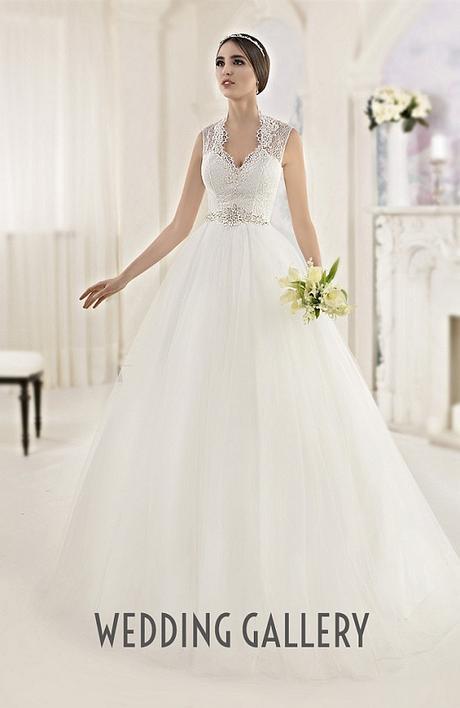 Čipkované svadobné šaty vo farbe ivory - Obrázok č. 1