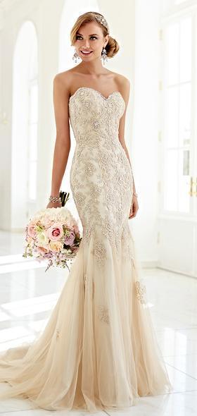 Svadobné šaty vo farbe ivory 199€ - Obrázok č. 1