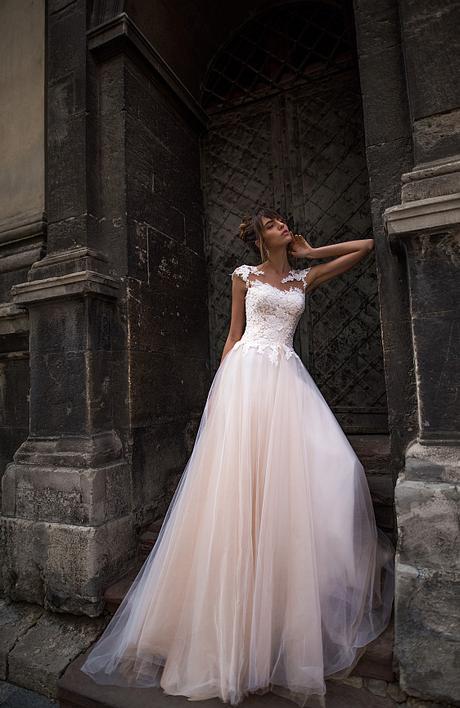 Svadobné šaty vo farbe ivory - výpredaj 199€ - Obrázok č. 1