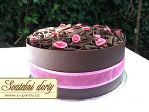 nevšední dortík:)