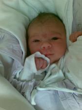 Gábinka se nám narodila 26.6.2007