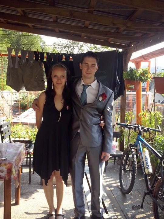 Katka{{_AND_}}Michal - spící ženich s přítelkyní mého bráchy:)