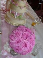 a moje svatební kytí