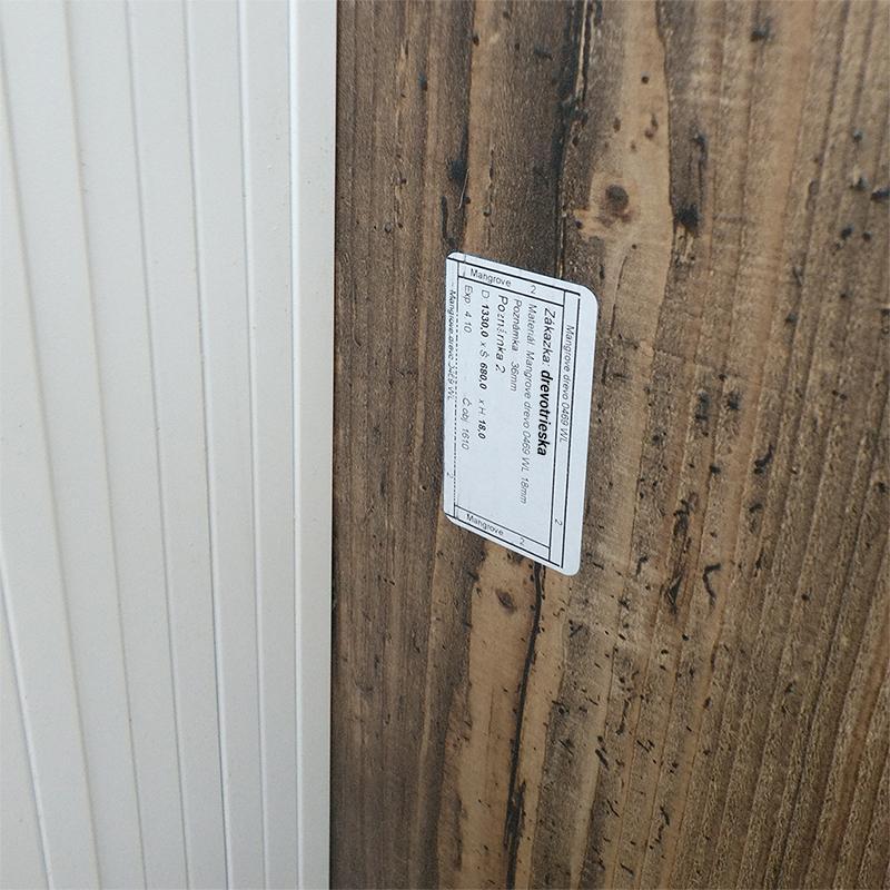 Označovanie dielcov z drevotriesky - Obrázok č. 1
