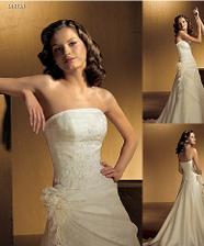 to jsou moje svatební šaty