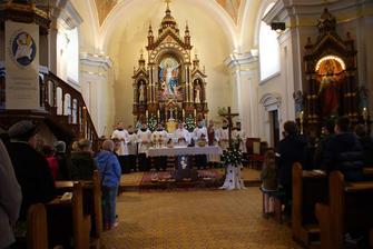 Interiér kostolíka :-)
