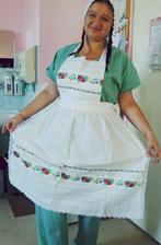 """Môj """"aufit"""" na očepčenie :P (viem že teraz vyzerám ako kucharka vo vývarovni, ale v práci sa inač fotiť nedá :D"""
