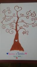 Svadobny strom je hotovy 😛🌳 už sa len dočkať farieb a v novembri to vypukne ❤😌