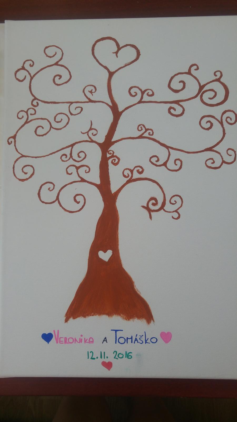 ♥ A je to tu..♥ už sa nám to kráti ♥ začali sa prípravy/ vybavovanie ♥ - Svadobny strom je hotovy 😛🌳 už sa len dočkať farieb a v novembri to vypukne ❤😌