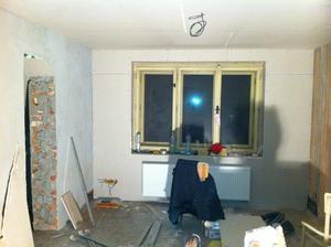 Ložnice... celkem rozdíl oproti původnímu stavu :-)