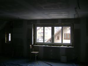 dnes nová okn, konečně jsem se dočkala :-)