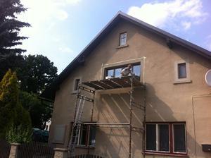 dnešní začišťování oken... stále je co dělat
